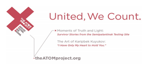 The ATOM project exhibit and art show