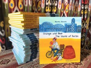 Orange and Blue: the World of Barzu- Promoting Central Asia through Children's Literature @ Voesar Conference Room (4th Floor)