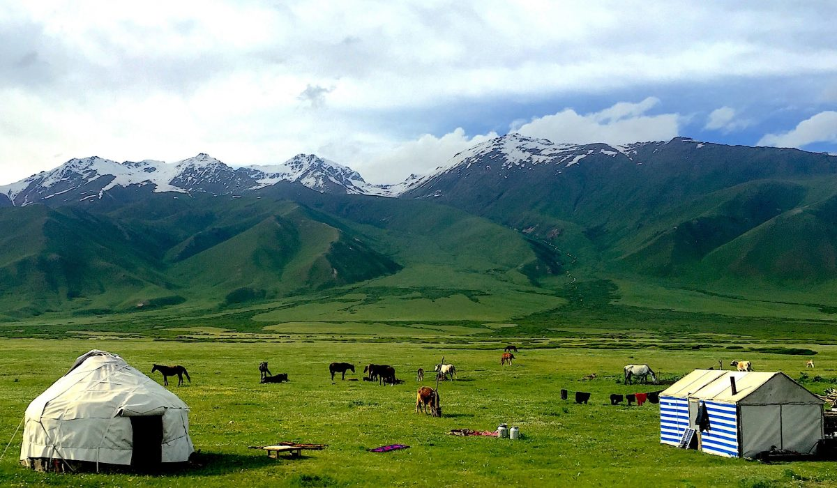 Matthew Brown, Kyrgyzstan, 2016 This photo was taken in June of 2016 in the Suusamyr Valley of Kyrgyzstan through a bus window. I was in Bishkek for a summer language program and knew next to nothing about Central Eurasia. This is one of many such scenes I viewed from our school bus as it took us around the country, and I wanted nothing more than to transcend that glass and learn more.