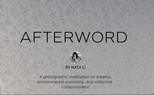 Photo Exhibit 'Afterword' by Nata Li @ Institute for European, Russian, and Eurasian Studies, Suite 412